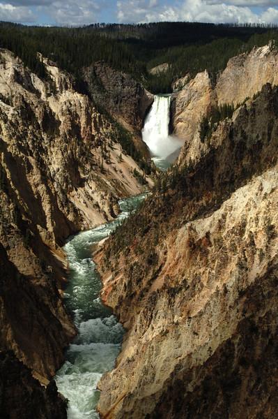Yellowstone Lower Falls 014