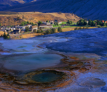 Mammouth Hot Springs #002