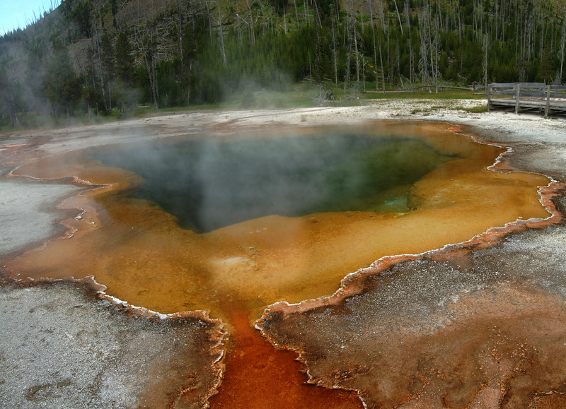Yellowstone Geysers & Pools