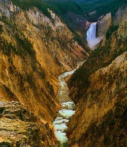 Lower Yellowstone Falls #015