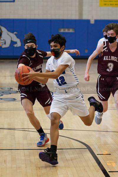 Lyman Memorial High School Boys Basketball vs Killingly (Junior Varsity)