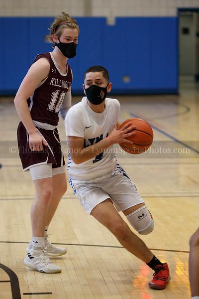 Lyman Memorial High School Boys Basketball vs Killingly (Varsity)
