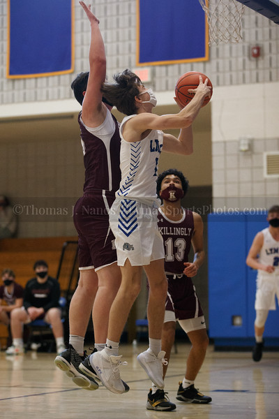 Lyman Memorial High School Boys Basketball vs Killingly (Varsity)