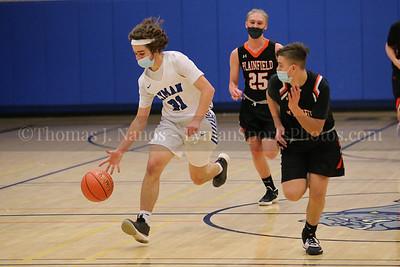 Lyman Memorial High School Boys Basketball vs Plainfield (Junior Varsity)