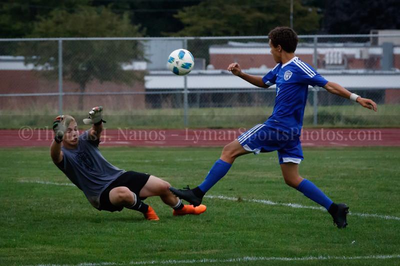 Lyman Memorial High School Boys Soccer vs. Griswold