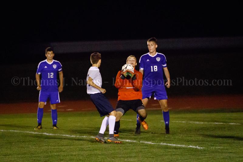Lyman Memorial High School Boys Soccer vs. Windham (Varsity)