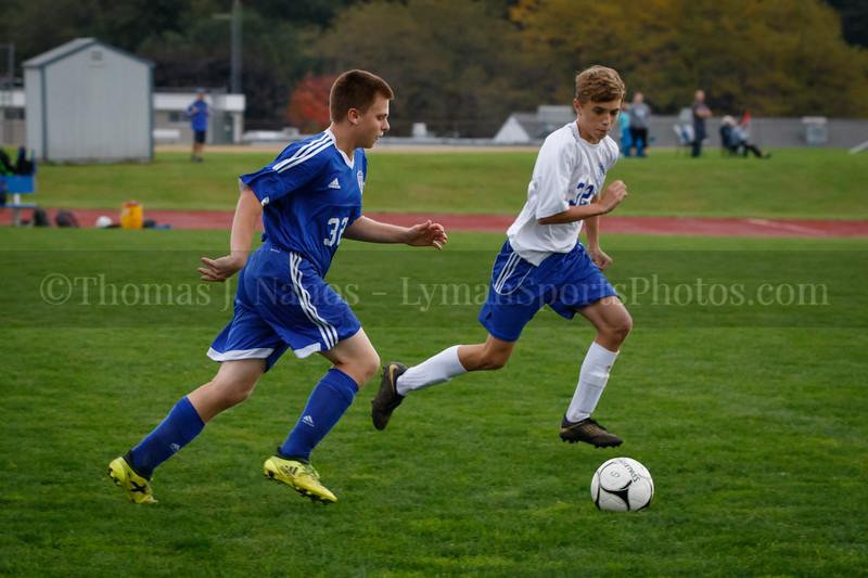 Lyman Memorial High School Boys Soccer vs Bacon Academy (Junior Varsity)
