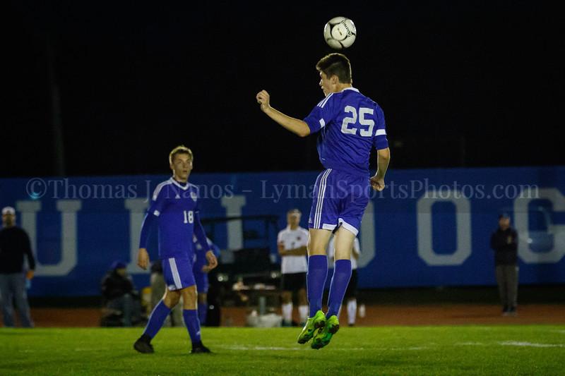 Lyman Memorial High School Boys Soccer vs Fitch High School (Varsity)