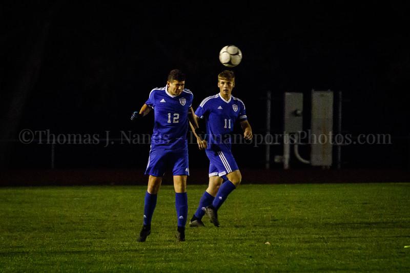 Lyman Memorial High School Boys Soccer vs. Lyme/Old Lyme (Varsity - Senior Night)