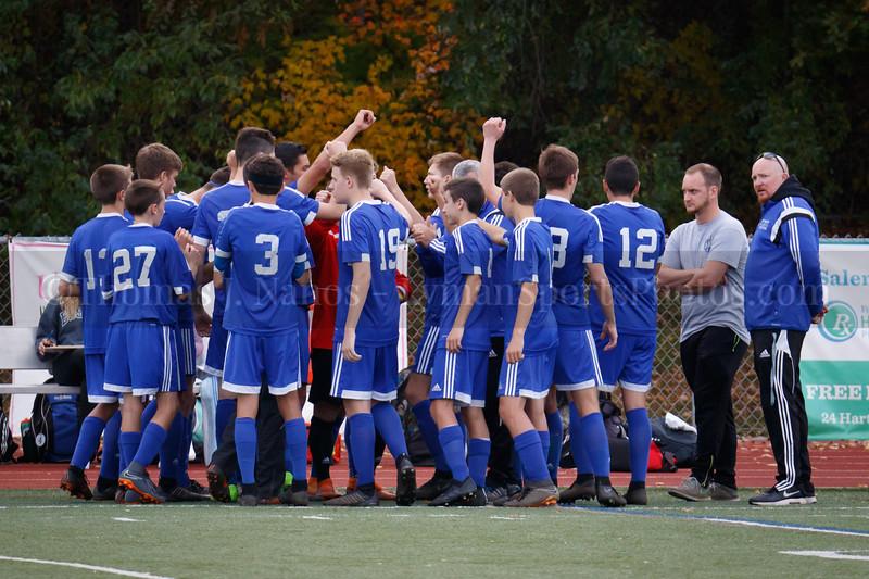 Lyman Memorial High School Boys Soccer ECC D-II Tournament Championships vs Windham