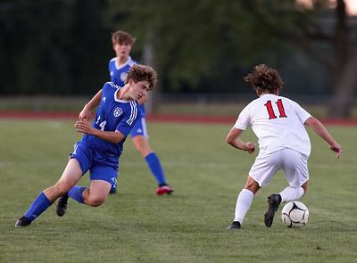Lyman Memorial High School Boys Soccer vs Somers