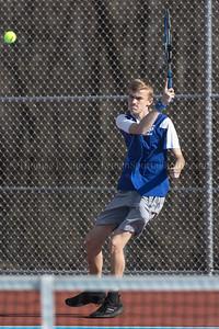 Lyman Memorial High School Boys Tennis vs Woodstock Academy (scrimmage)