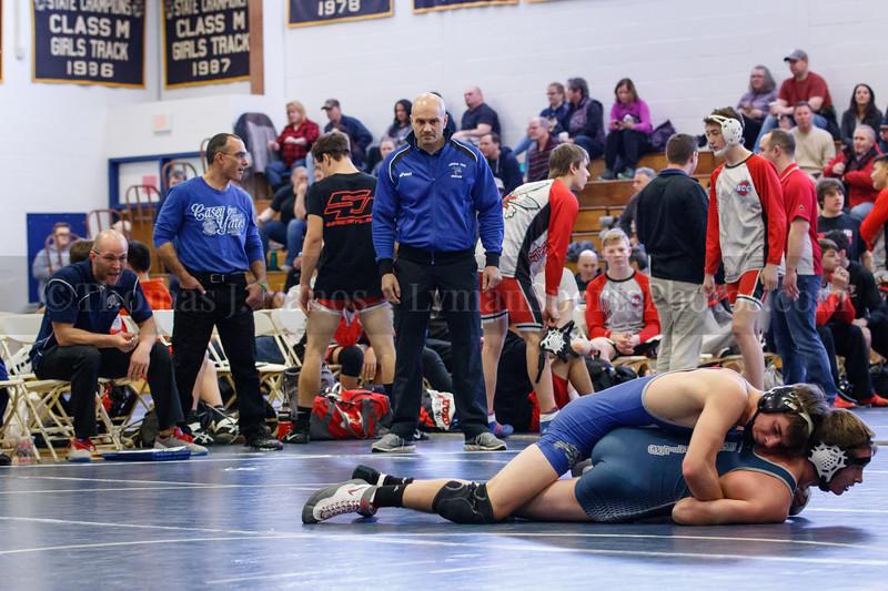 Lyman Memorial High School/Windham Tech Wrestling at Ledyard