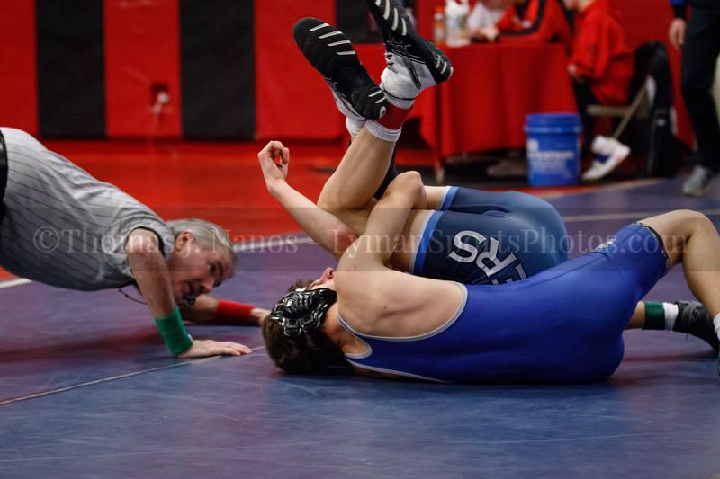 Lyman Memorial High School/Windham Tech Wrestling - ECC Tournament Championships at Fitch HS