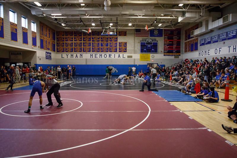 Lyman Memorial High School/Windham Tech Wrestling - 8th Annual Casey Yates Tournament