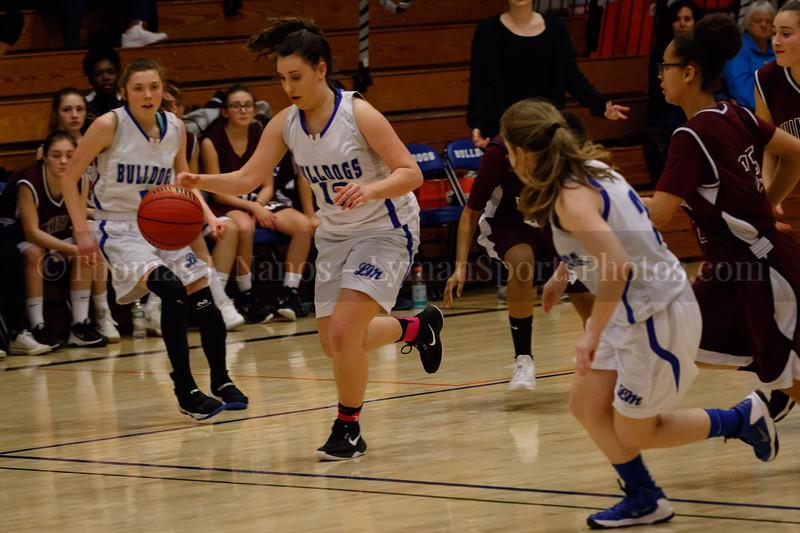 Lyman Memorial High School Girls Basketball vs Windham - Senior Night (Junior Varsity)