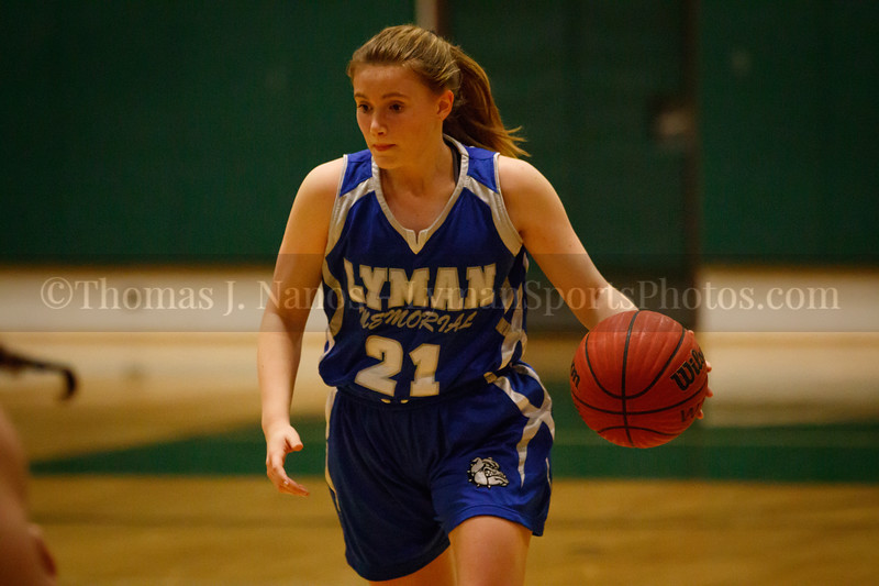 Lyman Memorial High School Girls Basketball at Griswold (Varsity)