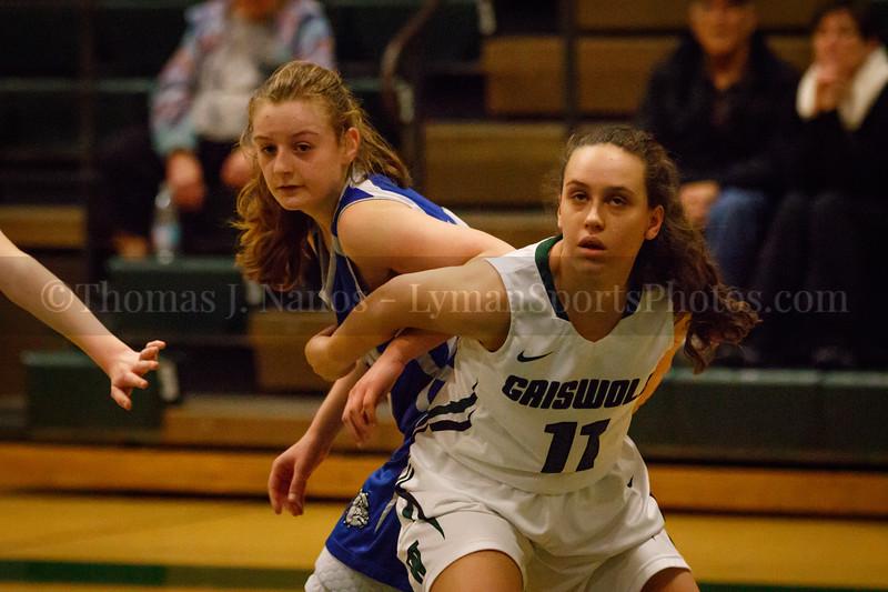 Lyman Memorial High School Girls Basketball at Griswold (Junior Varsity)