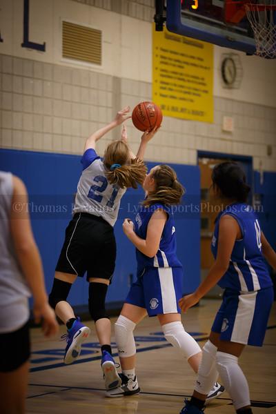 Lyman Memorial High School Girls Basketball vs East Hampton (scrimmage)