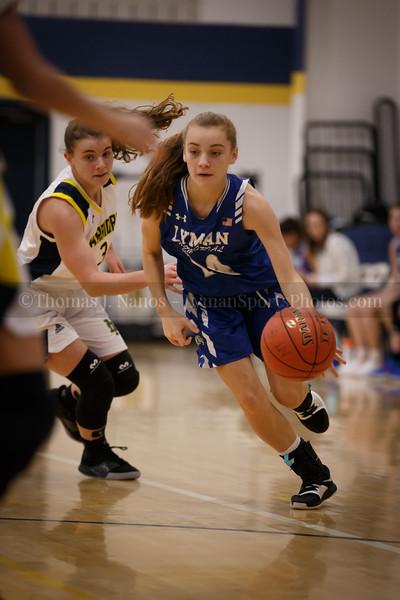 Lyman Memorial High School Girls Basketball at Norwich Tech (Junior Varsity)
