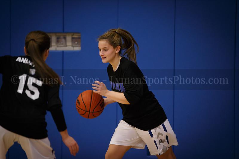 Lyman Memorial High School Girls Basketball vs Tourtelotte (Varsity)