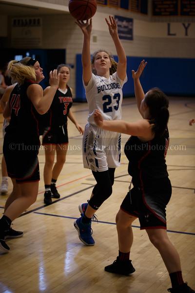 Lyman Memorial High School Girls Basketball vs Tourtelotte (Junior Varsity)