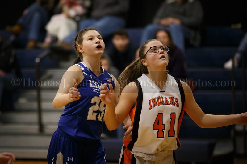 Lyman Memorial High School Girls Basketball at Montville (Junior Varsity)