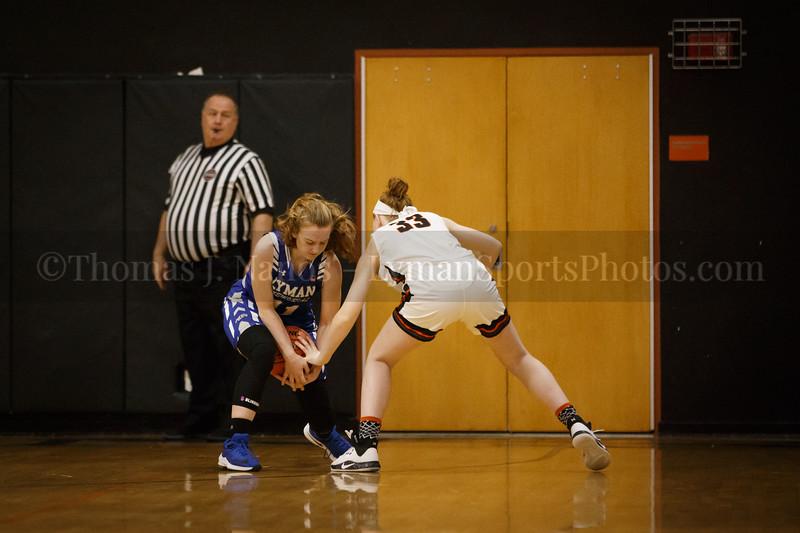 Lyman Memorial High School Girls Basketball at Montville (Varsity)