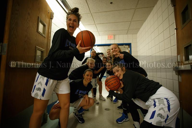 Lyman Memorial High School Girls Basketball vs Windham (Varsity)