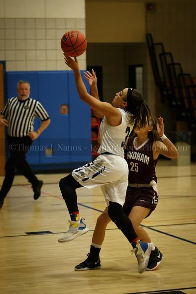 Lyman Memorial High School Girls Basketball vs Windham (Junior Varsity)