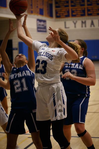 Lyman Memorial High School Girls Basketball vs Putnam (Varsity)