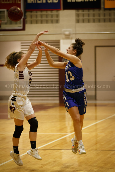 Lyman Memorial High School Girls Basketball at Wheeler (Varsity)