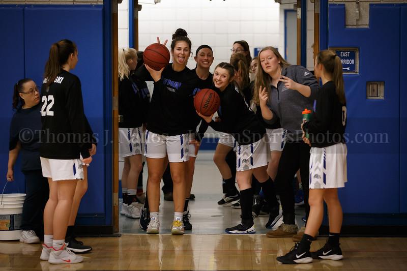 Lyman Memorial High School Girls Basketball vs Wheeler (Varsity)