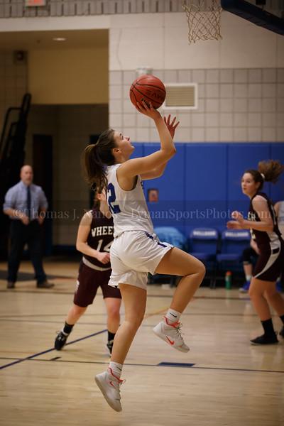 Lyman Memorial High School Girls Basketball vs Wheeler (Junior Varsity)