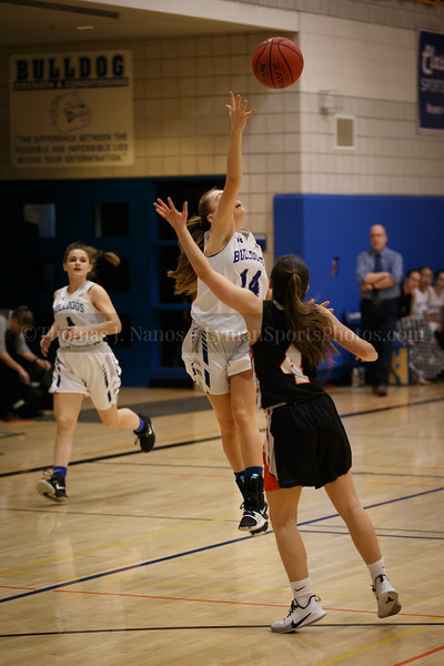 Lyman Memorial High School Girls Basketball vs Plainfield (Junior Varsity)