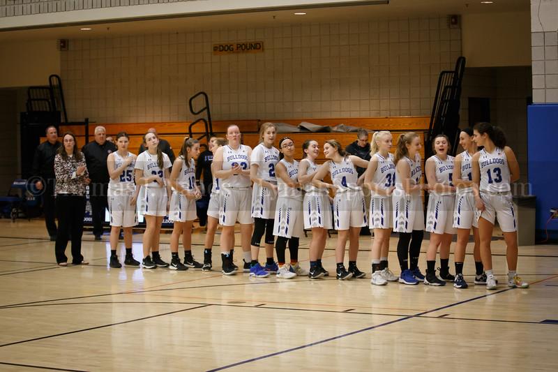 Lyman Memorial High School Girls Basketball vs Amistad (Varsity)
