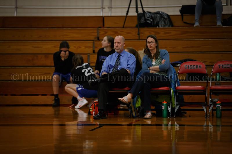 Lyman Memorial High School Girls Basketball at Tourtelotte (Varsity)
