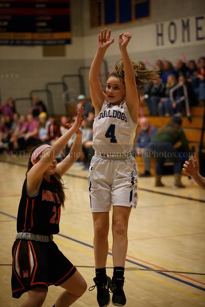Lyman Memorial High School Girls Basketball vs Montville - Coaches vs Cancer Game and JV Appreciation Night (Junior Varsity)