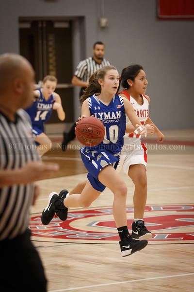 Lyman Memorial High School Girls Basketball at St. Bernards (Junior Varsity)