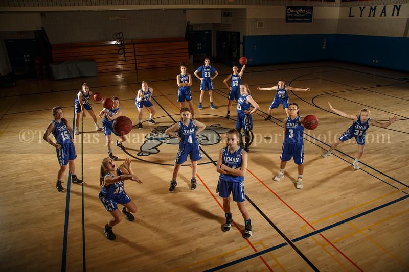 Lyman Memorial High School Girls Basketball Team