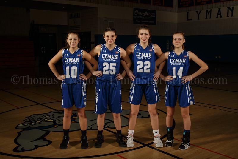 Lyman Memorial High School Girls Basketball Team - Freshmen