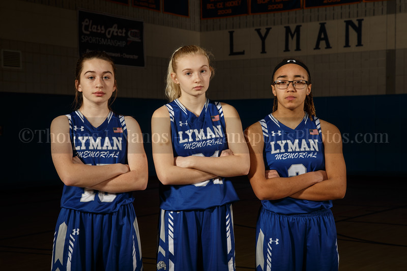 Lyman Memorial High School Girls Basketball Team - Juniors