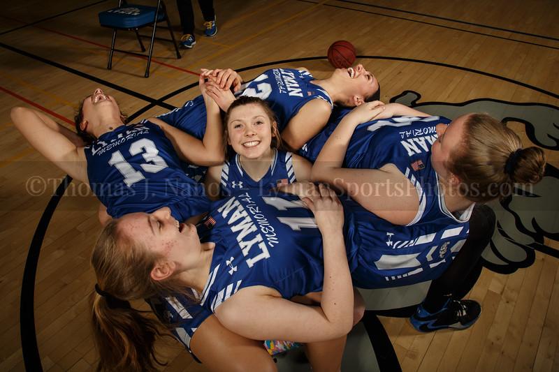 lyman Memorial High School Girls Basketball Team - Seniors