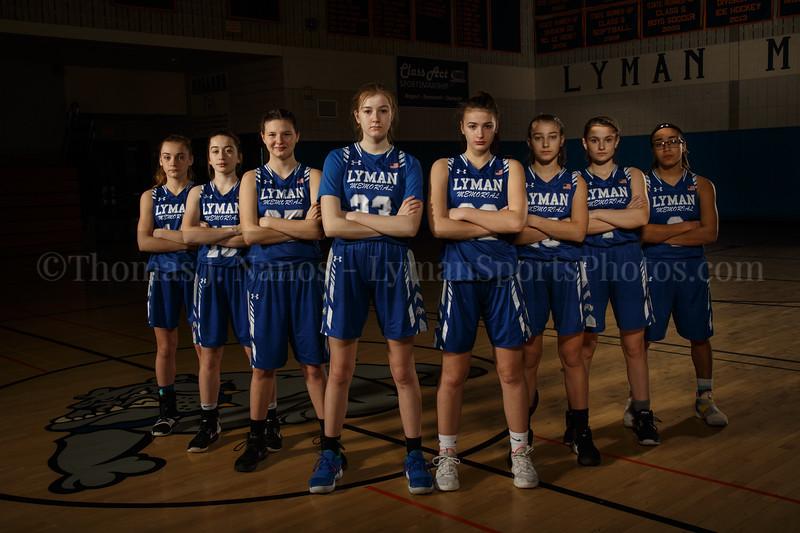Lyman Memorial High School Girls Basketball Team - Junior Varsity