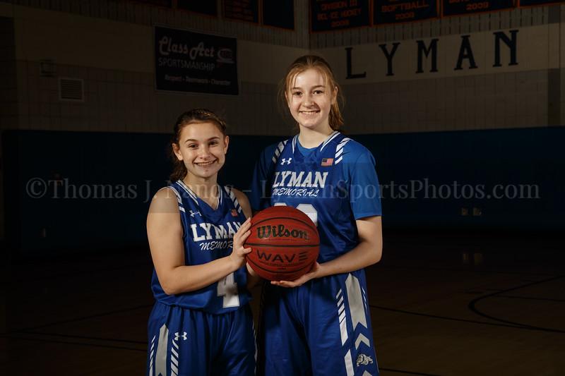 Lyman Memorial High School Girls Basketball Team - Sophomores