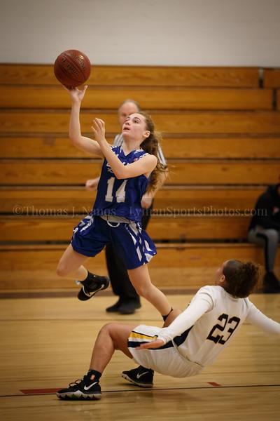 lyman Memorial High School Girls Basketball at Ledyard (Junior Varsity)