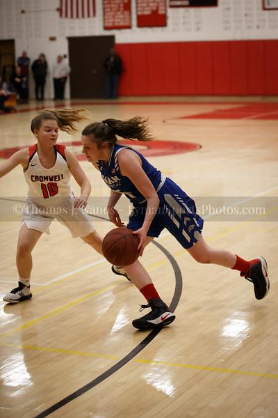 Lyman Memorial High School Girls Basketball at Cromwell (CIAC Class M First Round)