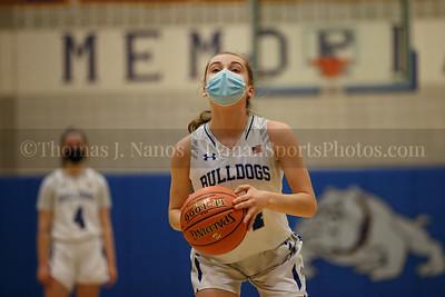 Lyman Memorial High School Girls Basketball vs Woodstock Academy (Junior Varsity)