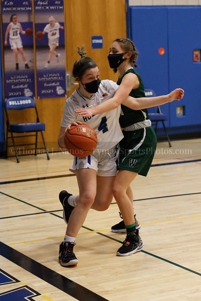 Lyman Memorial High School Girls Basketball vs Griswold (Junior Varsity)