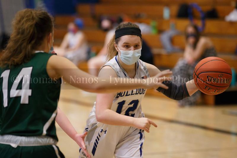 Lyman Memorial High School Girls Basketball vs Griswold (Junior Varsity)